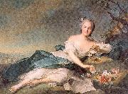 Jean Marc Nattier Henrietta of France as Flora oil painting picture wholesale