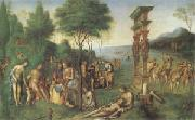Lorenzo Costa The Reign of Comus (mk05) oil painting picture wholesale
