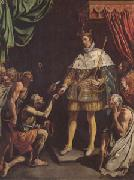 Luis Tristan Louis King of France Distributing Alms (mk05) oil painting artist