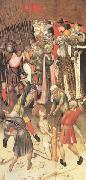 MARTORELL, Bernat (Bernardo) Two Scenes from the Legend of ST.George The Flagellation The Saint Dragged through the City (mk05) oil painting picture wholesale