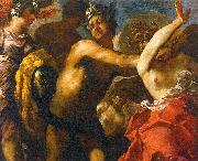 Maffei, Francesco Perseus Cutting off the Head of Medusa oil painting