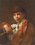 Maggiotto, Domenico Boy with Flute oil painting picture wholesale