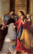 Maino, Juan Bautista del The Virgin Appears to a Dominican Monk in Seriano oil painting picture wholesale
