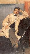 Maliavin, Philip Portrait of the Artist Konstantin Somov oil painting picture wholesale