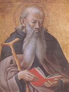 Master of the observanza Triptych Anthony Abbot (mk05) oil painting artist