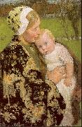 Melchers, Gari Julius Motherhood oil painting picture wholesale