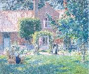 Melchers, Gari Julius The Unpretentious Garden oil painting picture wholesale