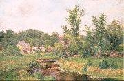 Metcalf, Willard Leroy Farm Scene oil painting picture wholesale
