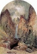 Moran, Thomas Tower Falls oil painting artist