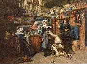 Mosler, Henry Buying the Wedding Trousseau oil painting artist