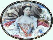 Murano, Andrea da Portrait of Catherine I in front of Ekaterinhov oil painting picture wholesale