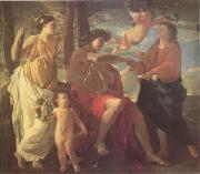 Nicolas Poussin The Inspiration of the Poet (mk05) oil painting picture wholesale