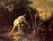 OUDRY, Jean-Baptiste A Dog on a Stand oil painting picture wholesale