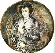 Oliver, Issac An Unidentified Lady oil painting