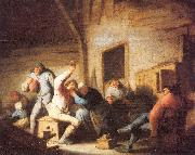 Ostade, Adriaen van Peasants Making Merry in a Tavern oil painting picture wholesale