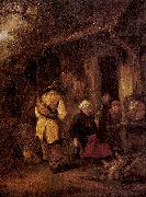 Ostade, Isaack Jansz. van Rest by a Cottage oil painting picture wholesale