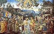 PERUGINO, Pietro Scenes from the Life of Christ oil painting picture wholesale