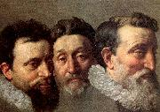 POURBUS, Frans the Younger Head Studies of Three French Magistrates oil painting picture wholesale