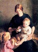 Page, Marie Danforth The Tenement Mother oil painting picture wholesale