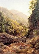 Peale, Harriet Cany View in the Kaaterskill Cove oil painting artist