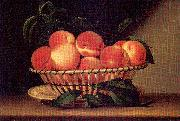 Peale, Raphaelle Bowl of Peaches oil painting artist