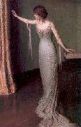 Perry, Lilla Calbot Lady in an Evening Dress oil painting picture wholesale