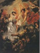 Peter Paul Rubens The Queen's Reconciliation with Her Son (mk05) oil painting picture wholesale