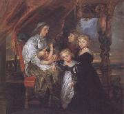 Peter Paul Rubens The Family of Sir Balthasar Gerbier (mk01) oil painting picture wholesale