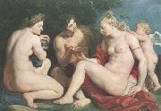 Peter Paul Rubens Venus,Ceres and Baccbus (mk01) oil painting picture wholesale