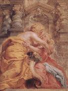 Peter Paul Rubens Peace and Plenty Embracing (mk01) oil painting picture wholesale