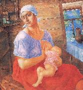 Petrov-Vodkin, Kozma Mother oil painting picture wholesale