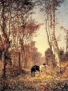Polenov, Vasily In the Park- The Village of Veules in Normandy oil painting picture wholesale