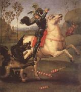 Raphael George Fighting the Dragon (mk05) oil painting picture wholesale