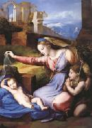 Raphael The Virgin with the Veil (mk05) oil painting picture wholesale