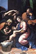 Raphael The Holy Family,known as the Great Holy Family of Francois I (mk05) oil painting picture wholesale