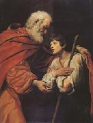 SPADA, Lionello The Return of the Prodigal Son (mk05) oil painting artist