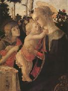 Sandro Botticelli The Virgin and child with John the Baptist (mk05) oil painting picture wholesale