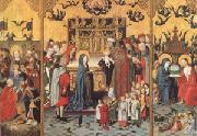 master of the Holy Kindred Retable of the Seven Joys of the Virgin (mk05) oil painting picture wholesale