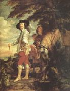 Anthony Van Dyck Charles I King of England Hunting (mk05) oil painting picture wholesale
