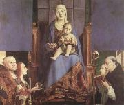 Antonello da Messina Sacra Conversazione (mk08) oil painting reproduction