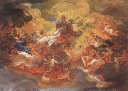 Baciccio The Apotheosis of St Ignatius (mk08) oil