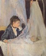 Berthe Morisot The Cradle (mk06) oil painting picture wholesale