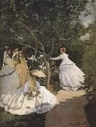 Claude Monet Women in the Garden (mk09) oil painting picture wholesale