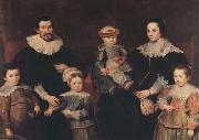 Cornelis de Vos The Family of the Artist (mk08) oil painting artist