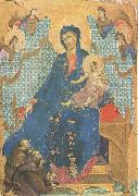 Duccio di Buoninsegna Madonna of the Franciscans (mk08) oil painting picture wholesale