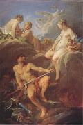 Francois Boucher Venus Requesting Arms for Aeneas from Vulcan (mk05) oil painting picture wholesale