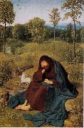 Geertgen Tot Sint Jans St John the Baptist in the Widerness (mk08) oil painting artist