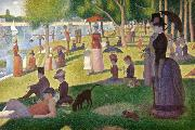 Georges Seurat Sunday Afternoon of the Island of La Grande Jatte (mk09) oil painting picture wholesale