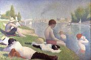 Georges Seurat Bathers at Asnieres (mk09) oil painting picture wholesale