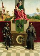 Giorgione Virgin and Child with SS Francis and Liberalis (mk08) oil painting picture wholesale